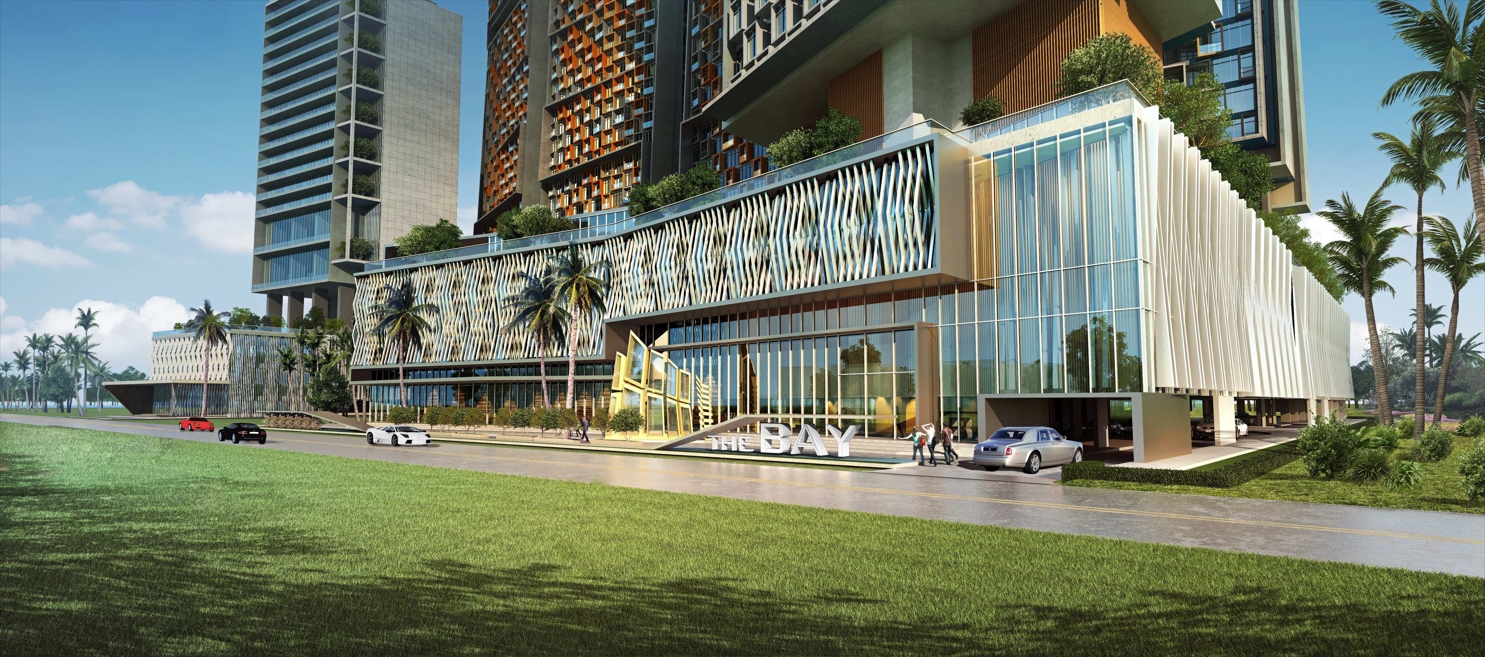 The bay in phnom penh cambodia freehold iconic building for Design hotel road